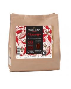 dunkle schokolade guanaja 70% durch valrhona