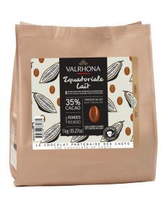 Milchschokolade Equatoriale 35% - 1 kg