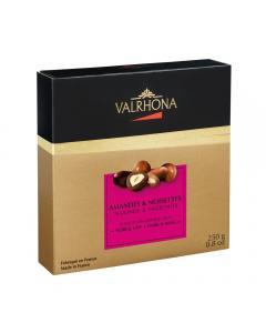 Schachtel Equinoxe Mandel Haselnuss (dunkle und Milchschokolade)
